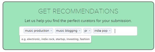 Fluence Recommendations