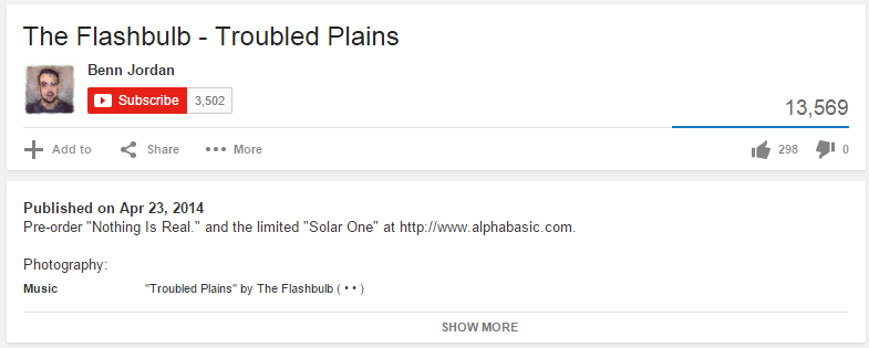 The Flashbulb is Amazing!