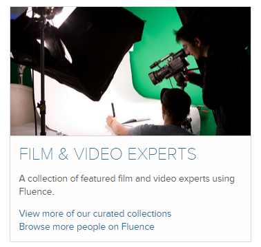 Featured Film & Video Experts on Fluence